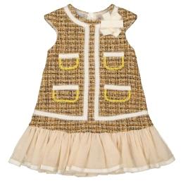 Girls Tweed Dress