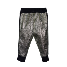 Girls Platinum Joggers with Glitters