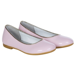 Girls Pink Pumps with Jewels