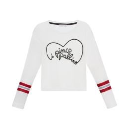Girls Long Sleeve T-Shirt With IPP Heart