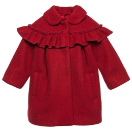 Baby Girls Coat with Ruffles