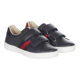 Leather Velcro Sneaker