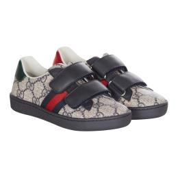 Boy's GG Supreme Canvas Shoes