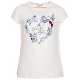 Girls Chic Heart T-Shirt