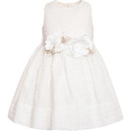 Baby Girls Sangallo Dress With Flower Ribbon
