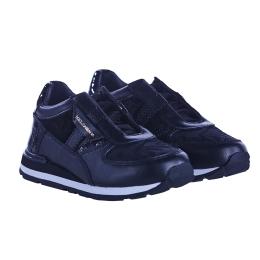 Girls Black Sneakers
