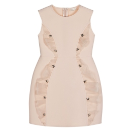 Girls Dress with Stars and Frill