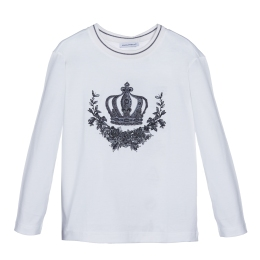 Boys T-Shirt with Crown