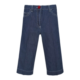 Girls Coulotte Denim Pants