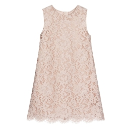 Girls Lace A-line Dress