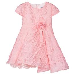 Girls Cerimony Texturized Dress