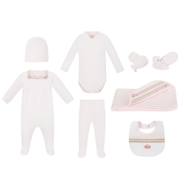 Baby Girls Maternity Kit With Rose Details