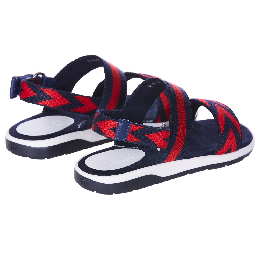 a88ec25c254 Boys Web Sandals GUCCI  Boys Web Sandals GUCCI ...