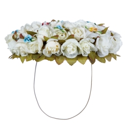 Girls Hairband with Flowers