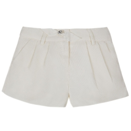 Girls Ivory Shorts