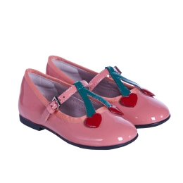 Girls Shoes with Cherries