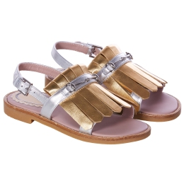 Girls Fringe Sandals