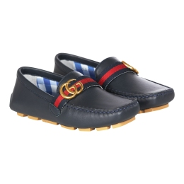 Boys GG Loafer Shoes