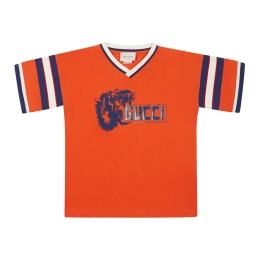 Boys Tiger Gucci Print T-shirt