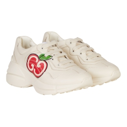 Rhyton Sneakers With GG Apple Print