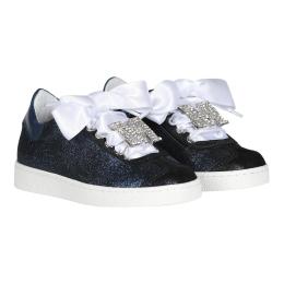 Girls Gliter Sneakers