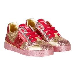 Girls Portofino Sneakers With Glitter