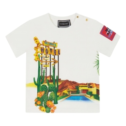 Baby Boys T-Shirt With Palmsprings Hotel