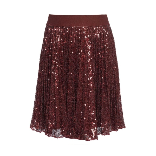 Girls Sequin Skirt Monnalisa