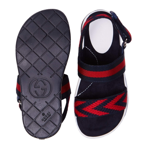 Boys Web Sandals GUCCI