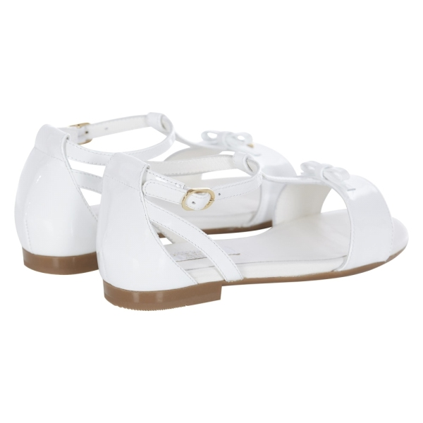 Girls Patent Leather Sandals DOLCE&GABBANA